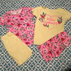 Carter's Girl Pajamas Size 8